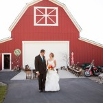 A vintage inspired barn wedding