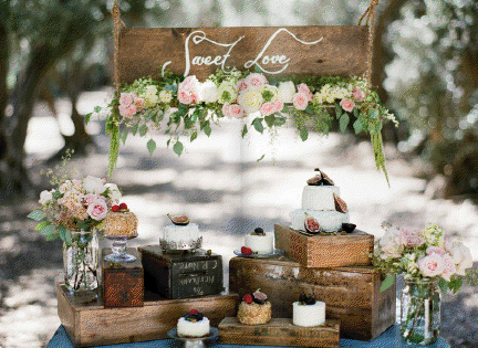 How To Plan A Rustic Vintage Wedding - Rustic Wedding Chic