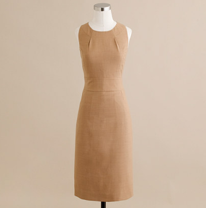 Brown J.Crew Dress