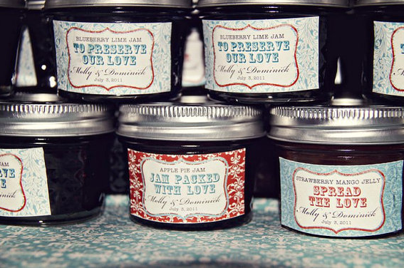 Jelly Wedding Favors