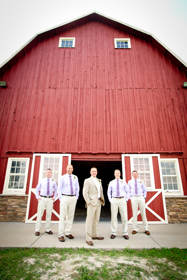 Country Wedding In A Barn