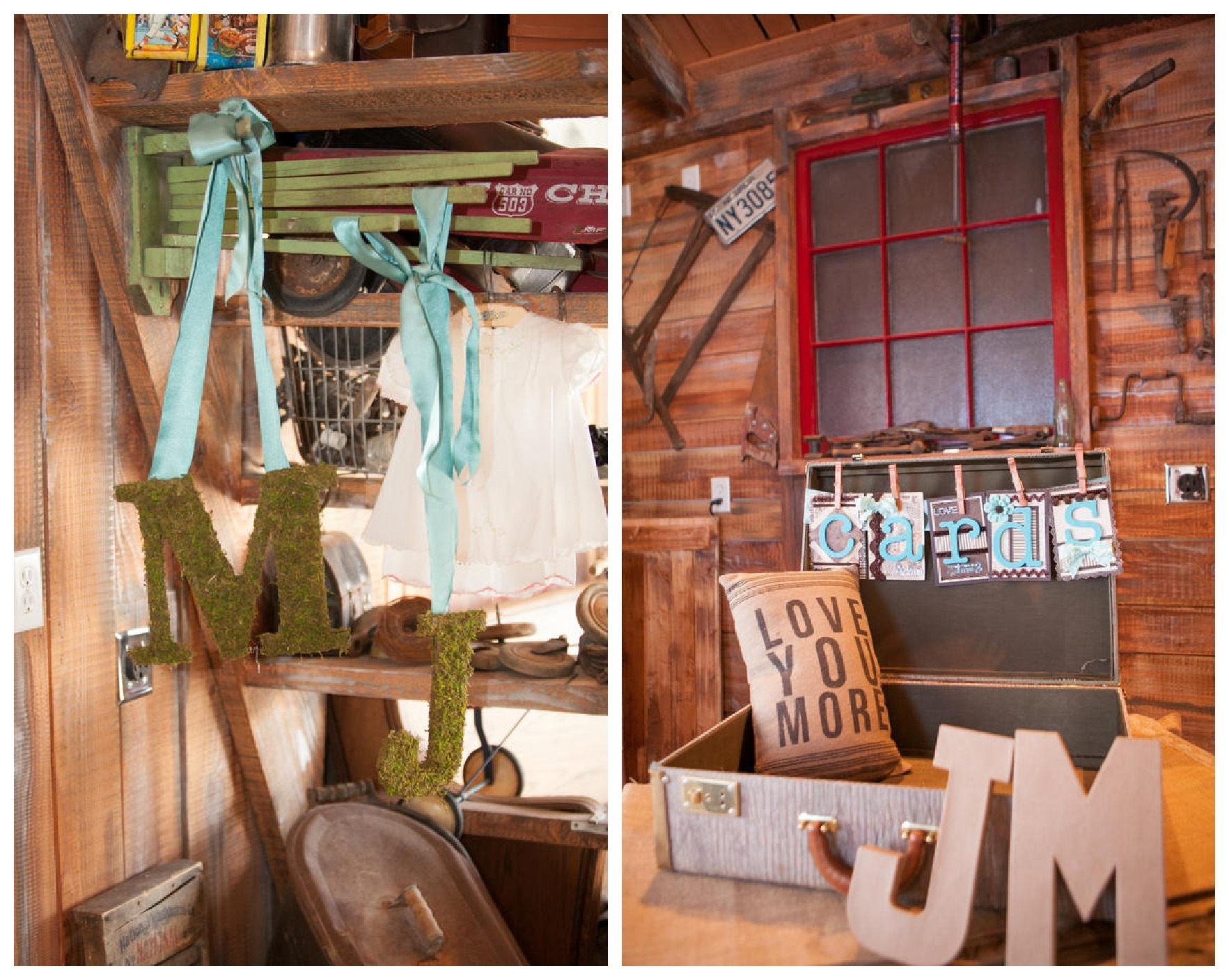 Vintage Inspired Barn Wedding - Rustic Wedding Chic