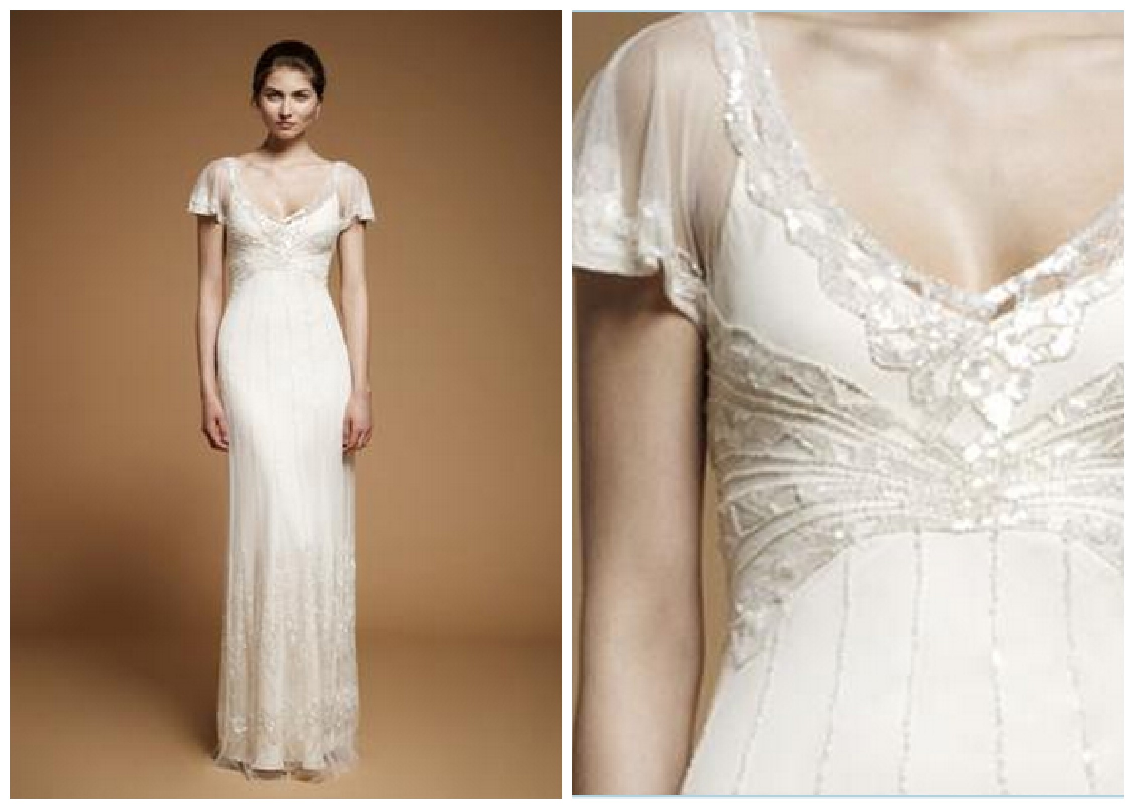 Hollywood chic wedding dress : Wedding experts pick for top gowns rustic chic