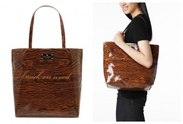 Kate Spade Wood Bag