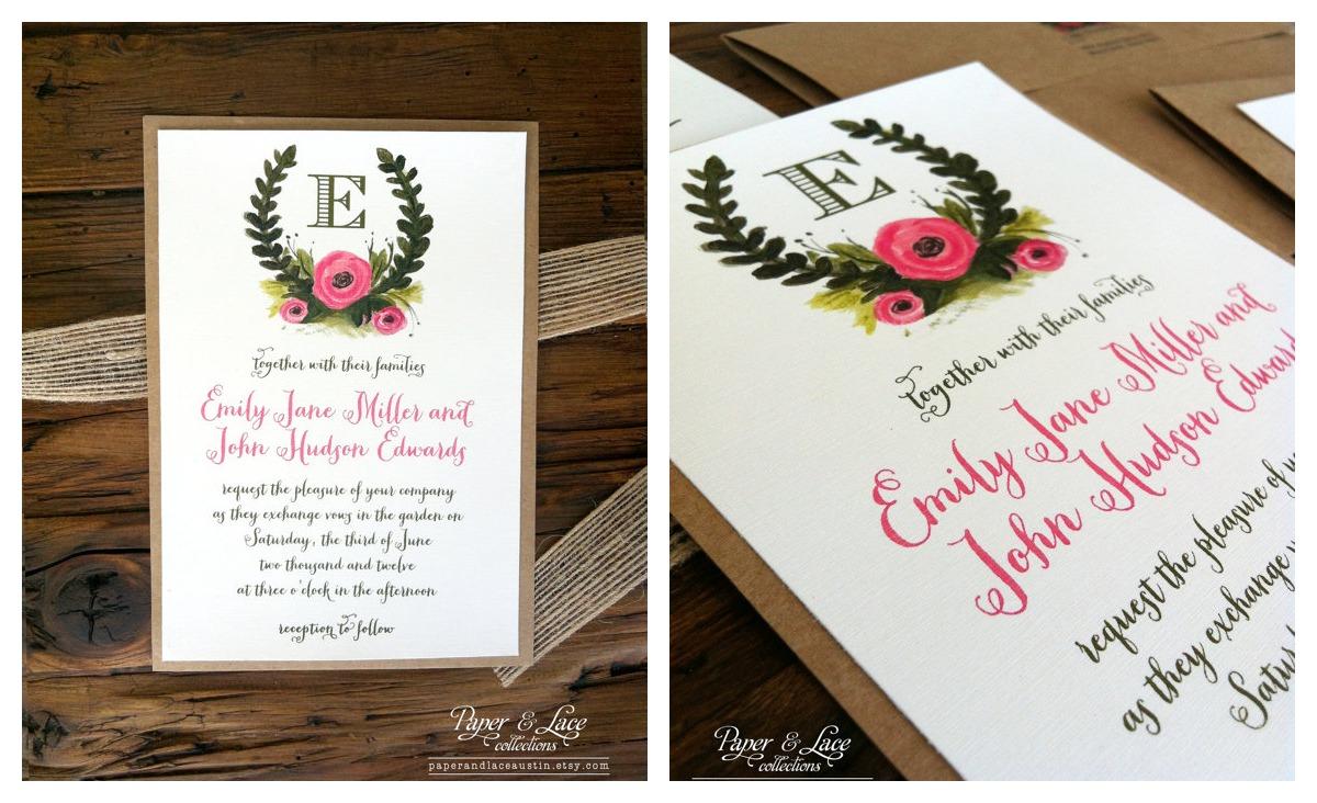 New Wedding Invitation Ideas: New Rustic Wedding Invitation Trends