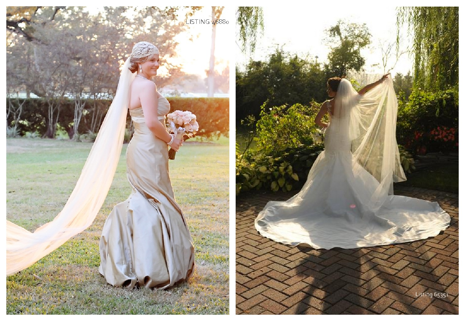Sponsored post buying a pre owned wedding dress rustic for Pre used wedding dresses