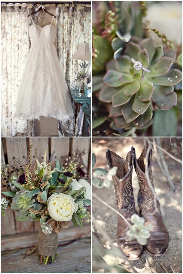 Rustic Country California Wedding