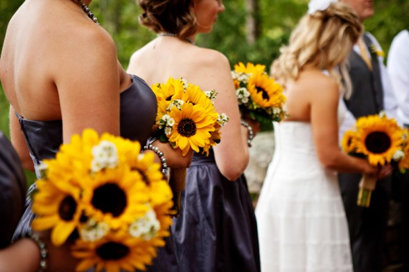 A sunflower wedding theme