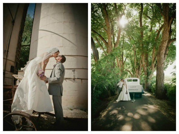 A vintage style new mexico wedding