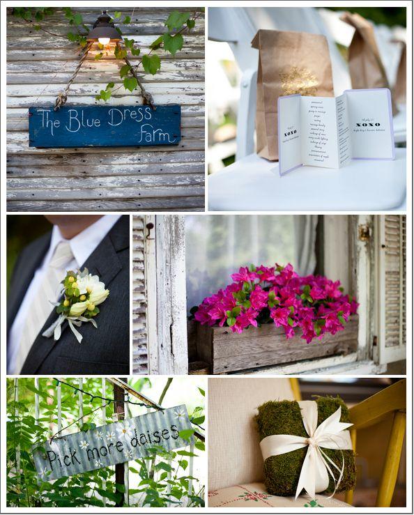 Michigan Barn Wedding - Rustic Wedding Chic