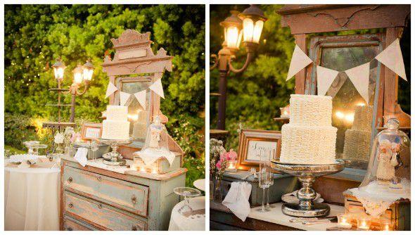 wedding cake for a vintage wedding