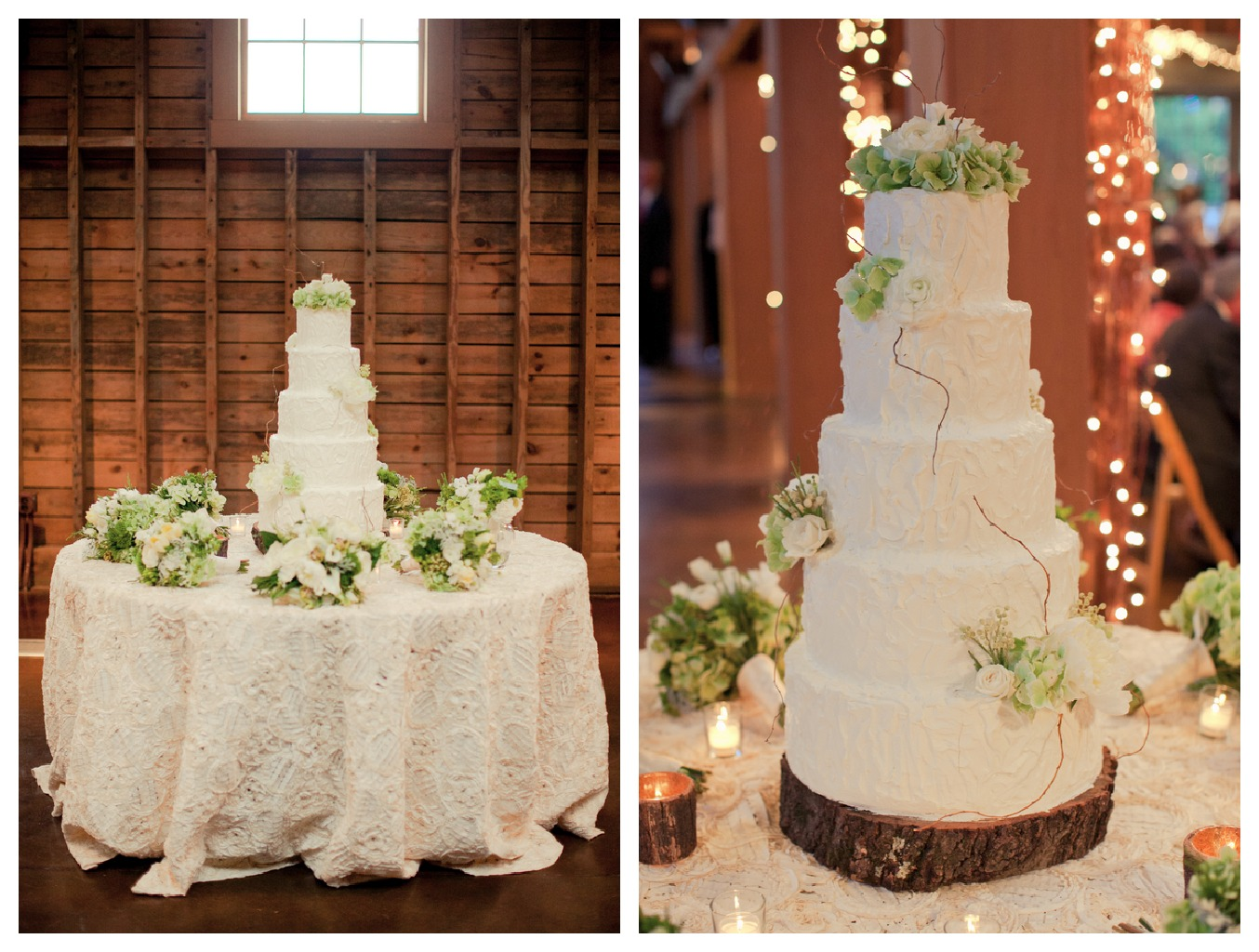 Country Wedding Cake Table Decorations Viewing Gallery