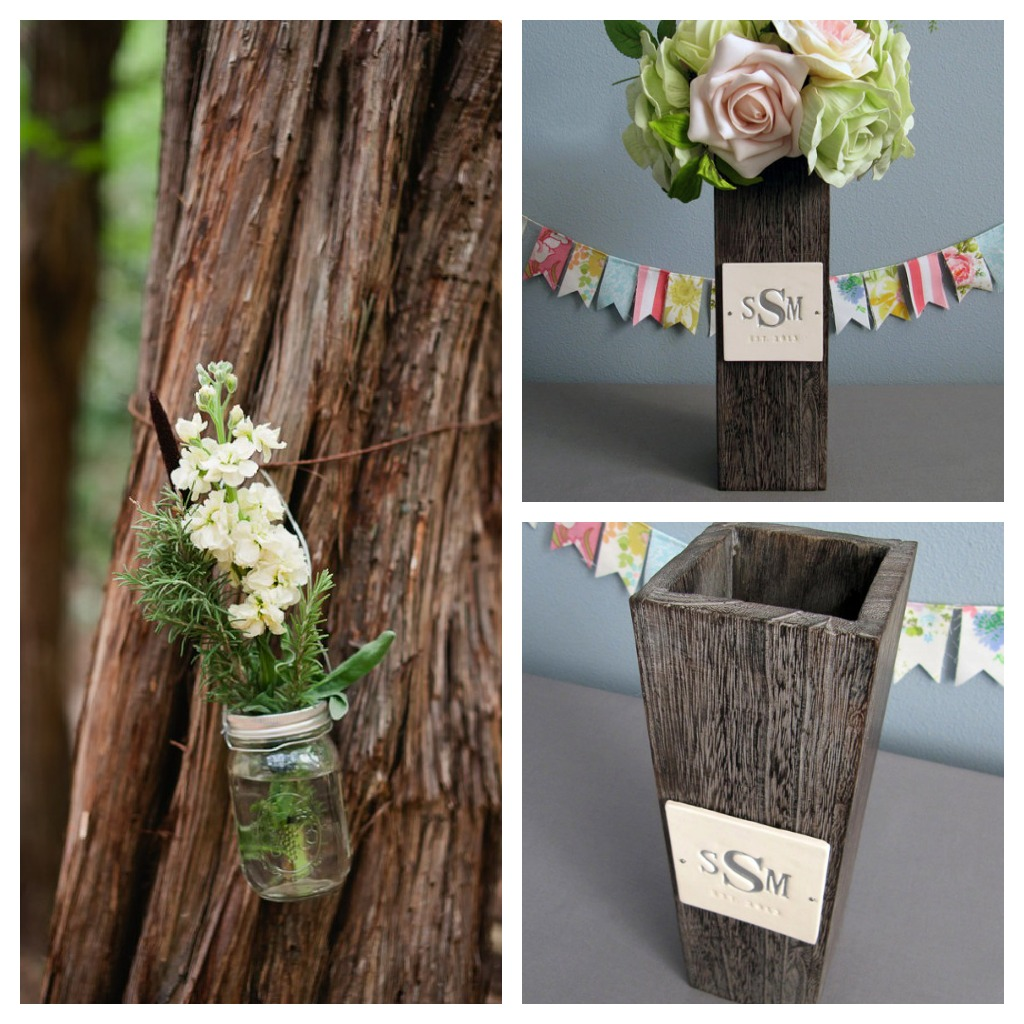 Wood theme wedding inspiration rustic chic