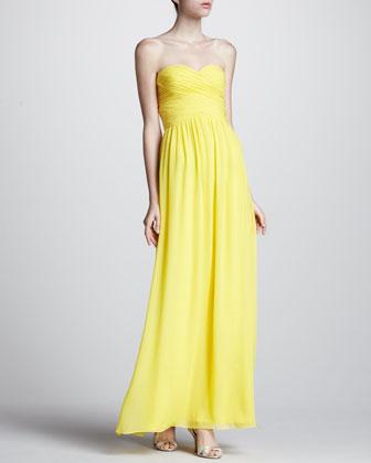 Yellow Wedding Gowns Rustic Wedding Chic