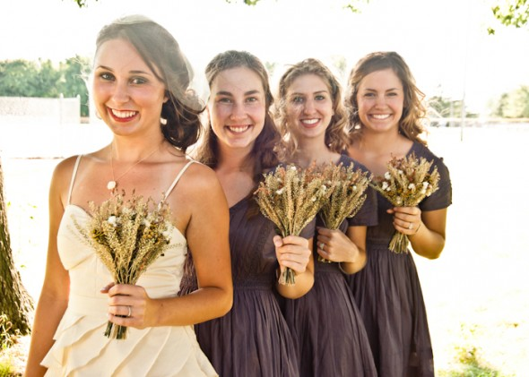 Backyard Wedding Bridesmaid Dresses