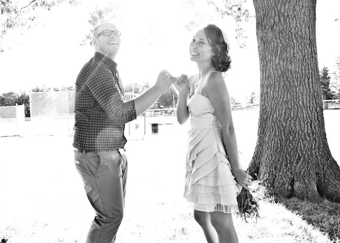 casual backyard wedding rustic wedding chic