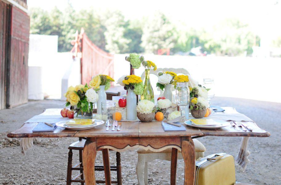 Vintage Farm Wedding