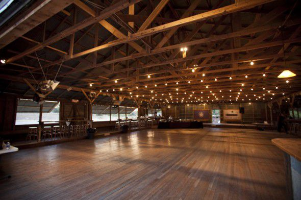 Barn Wedding Rehearsal Dinner