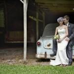 Vintage Backyard Style Wedding