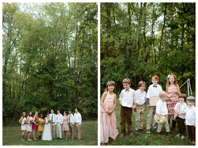 Rustic Elegant Backyard Wedding : Simple & Chic Backyard Wedding  Rustic Wedding Chic