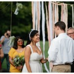 Outdoor Rustic Wedding Ceremony
