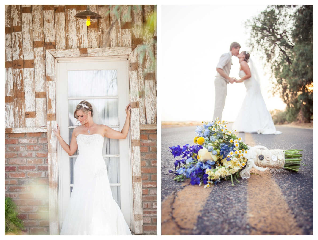 arizona country wedding at the windmill winery rustic wedding chic