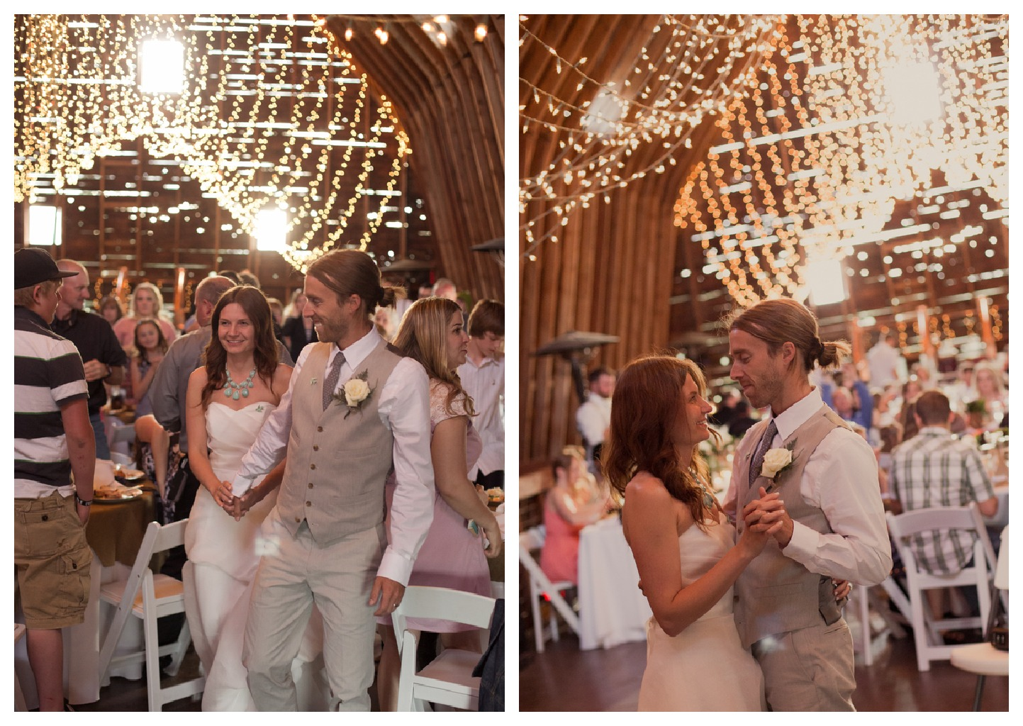 Stylish Barn Wedding