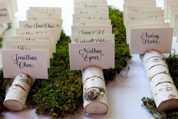 Rustic Wedding Seating Chart Ideas - Rustic Wedding Chic