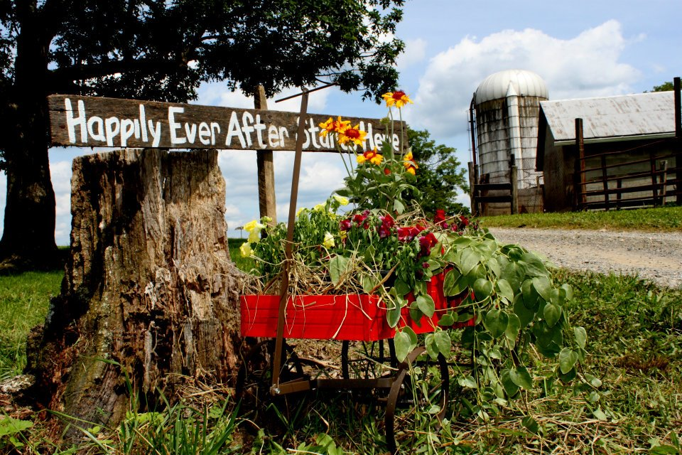 By maggie lord in farm weddings real rustic country weddings