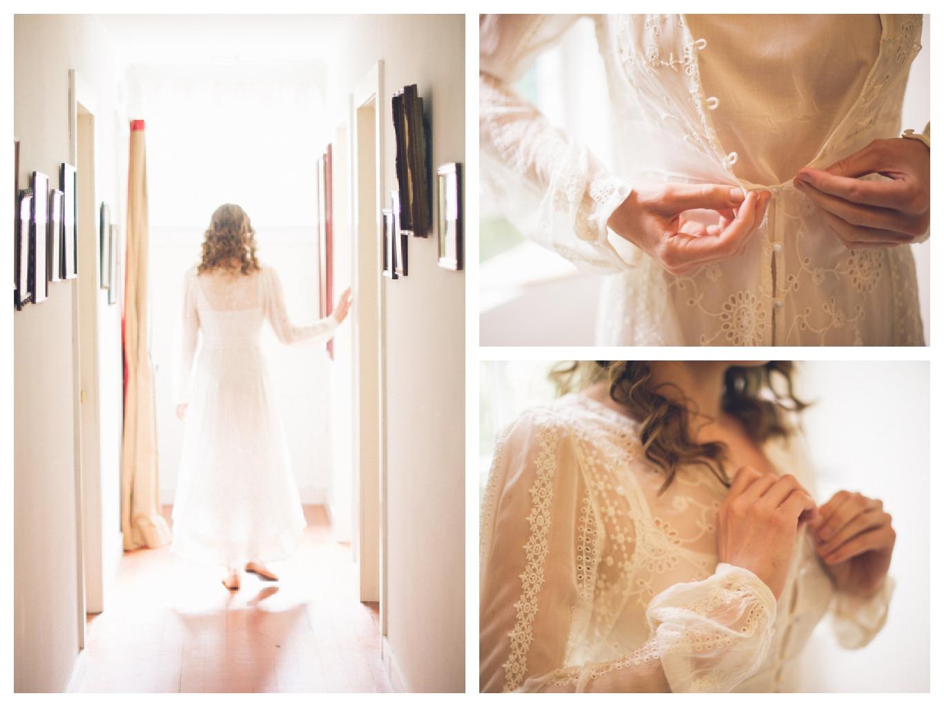 Boho vintage style wedding rustic wedding chic for Gunne sax wedding dresses