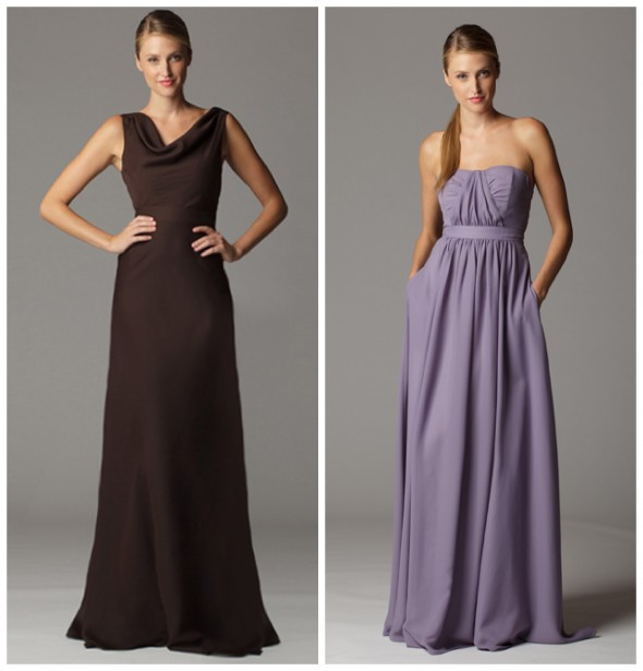 Long Flowy Bridesmaid Dress