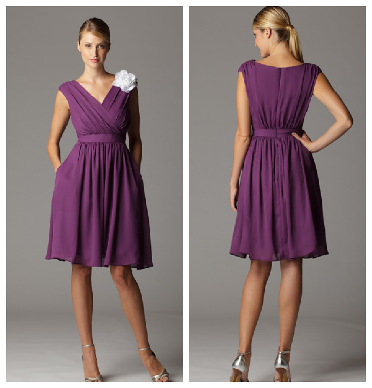 Plum color junior bridesmaid dresses ombrellifo Image collections