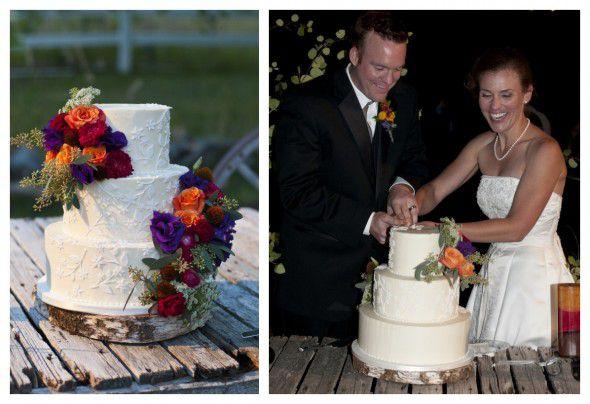 Rustic Wedding Cake Stand