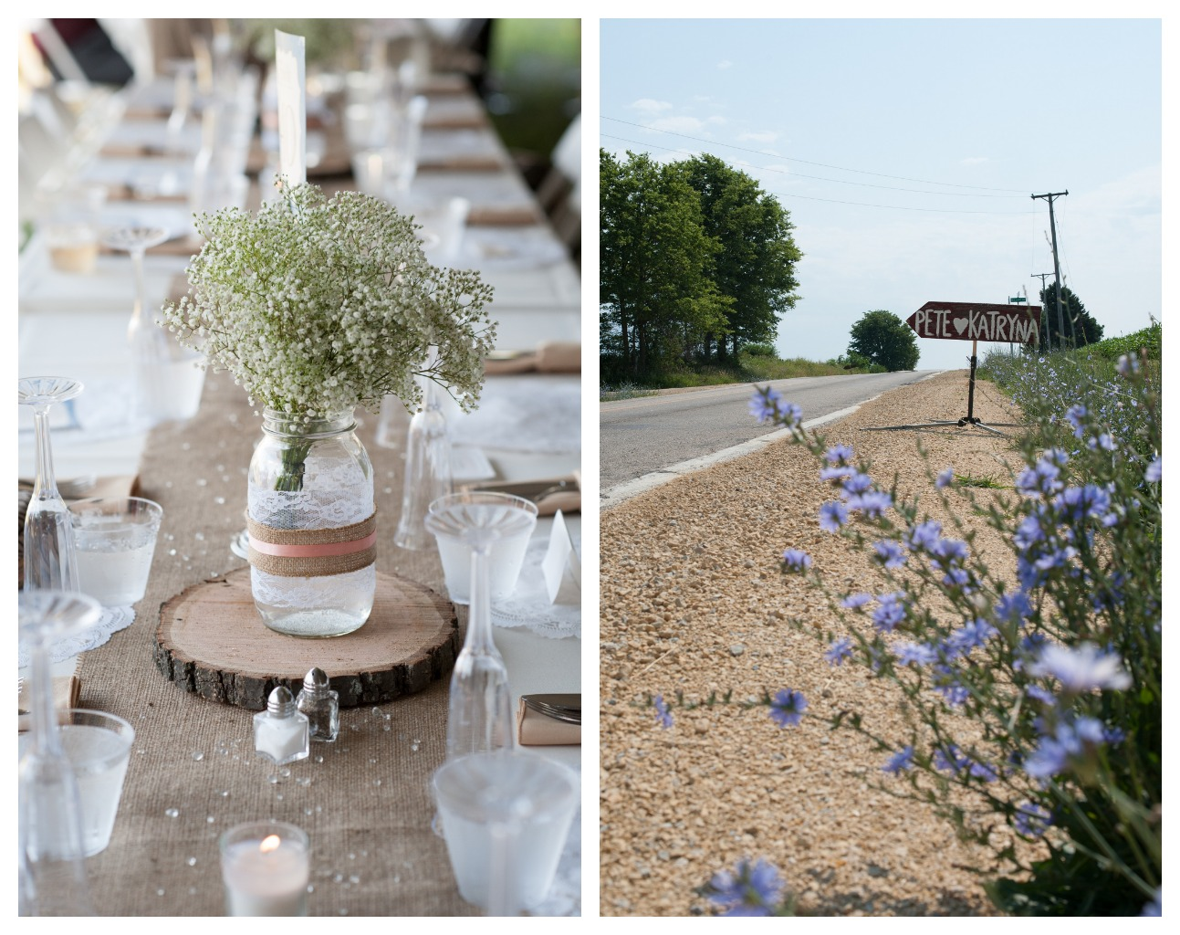 Rustic Northern Illinois Farm Wedding Chic