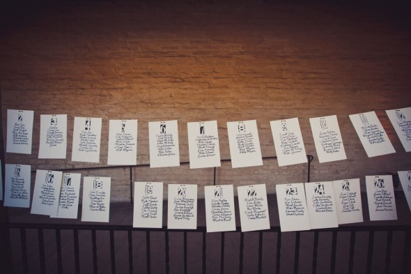 Seating Chart Idea Rustic Wedding