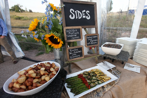 Side Dishes At A Wedding