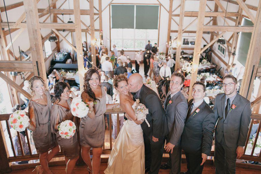 Rustic Illinois Barn Wedding - Rustic Wedding Chic