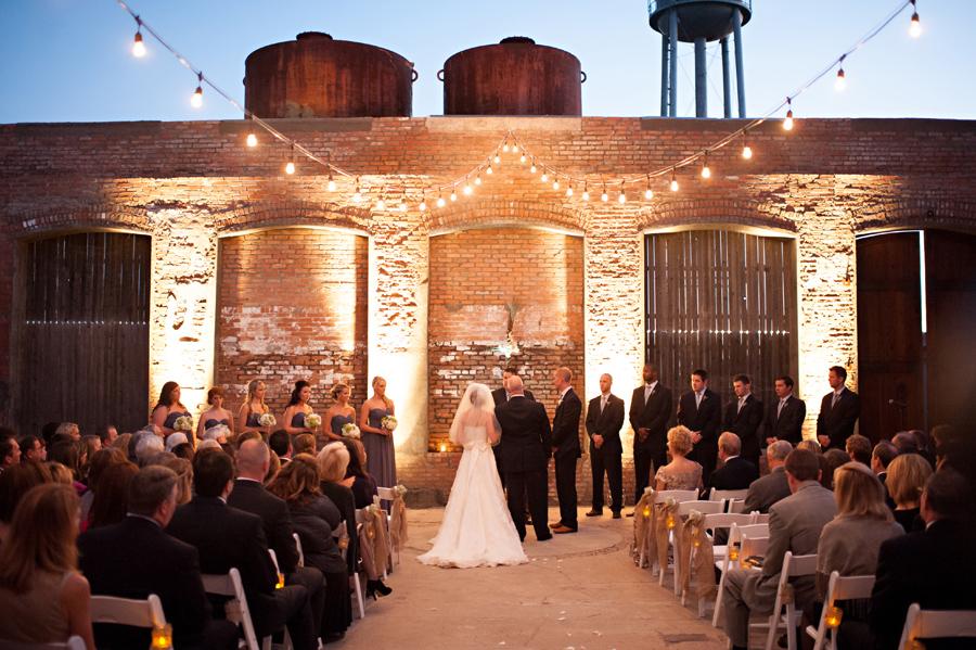 Cotton Mill Wedding Texas