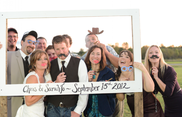 Country Wedding Photobooth