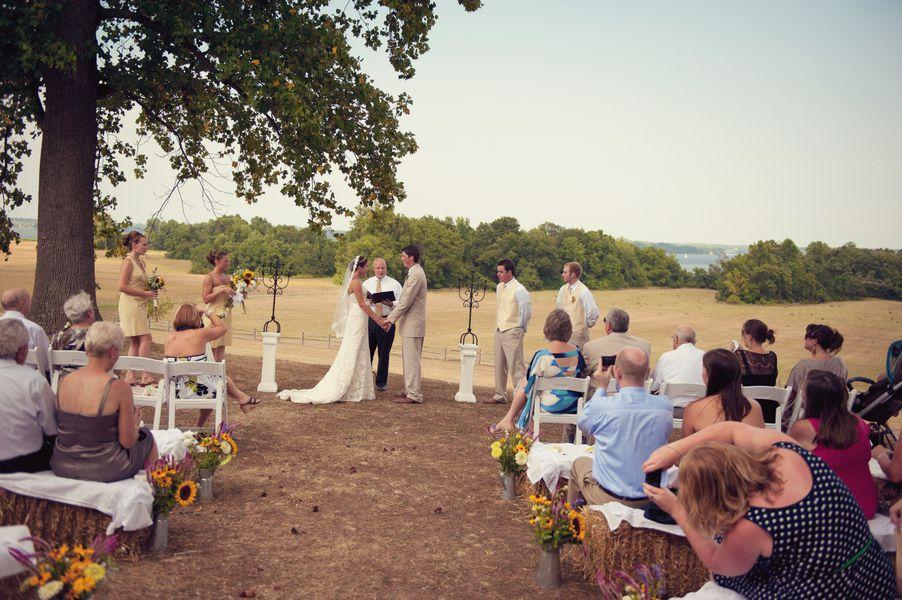A Wedding On A Farm