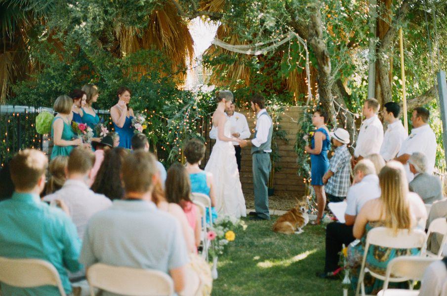 Budget Backyard Wedding - Rustic Wedding Chic