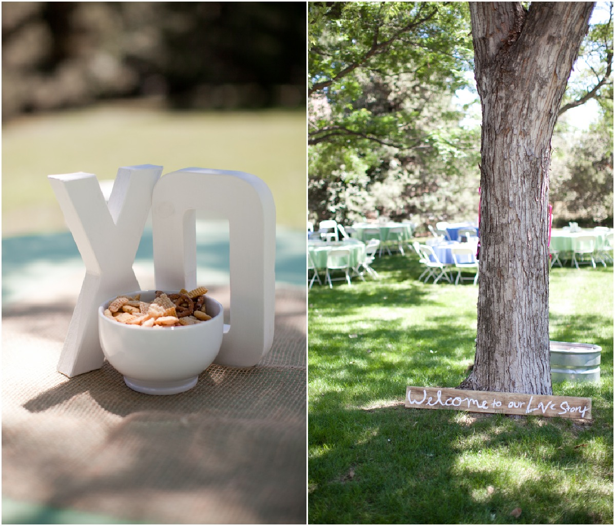 Wedding Ideas Backyard : Colorado Backyard Wedding  Rustic Wedding Chic