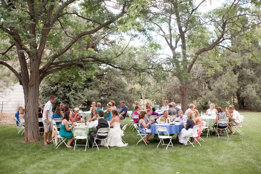 Colorado Backyard Wedding - Rustic Wedding Chic