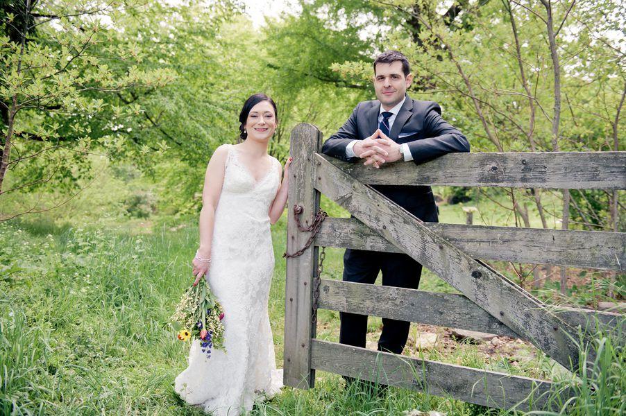 Country Pennsylvania Wedding