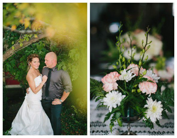 Flowers For A Barn Wedding