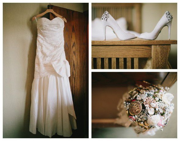 Gown For A Rustic Wedding