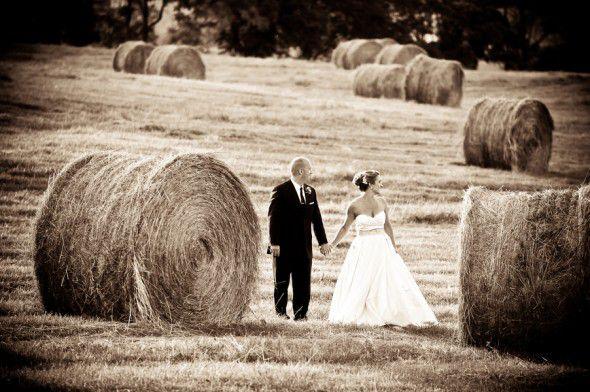Hay At Wedding