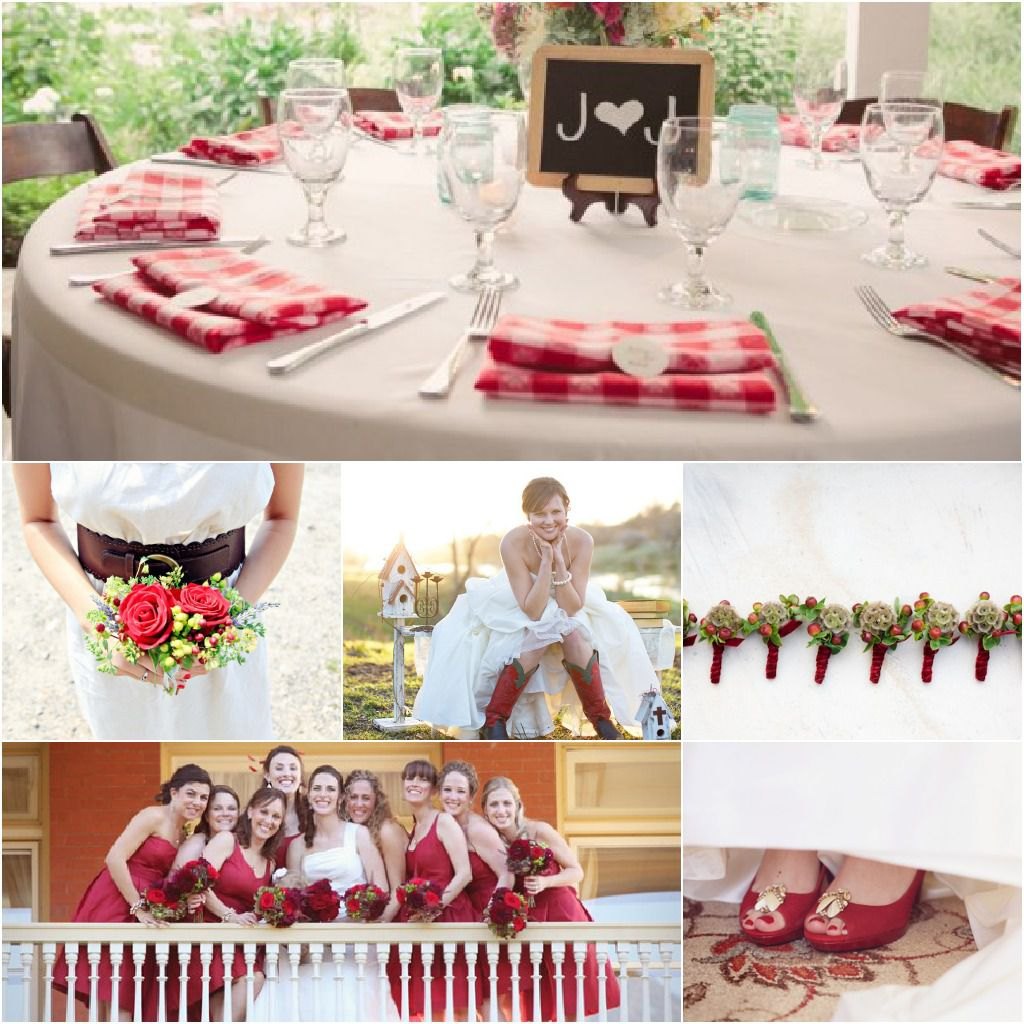 Wedding Ideas And Inspirations: Inspiration For A Red Themed Wedding