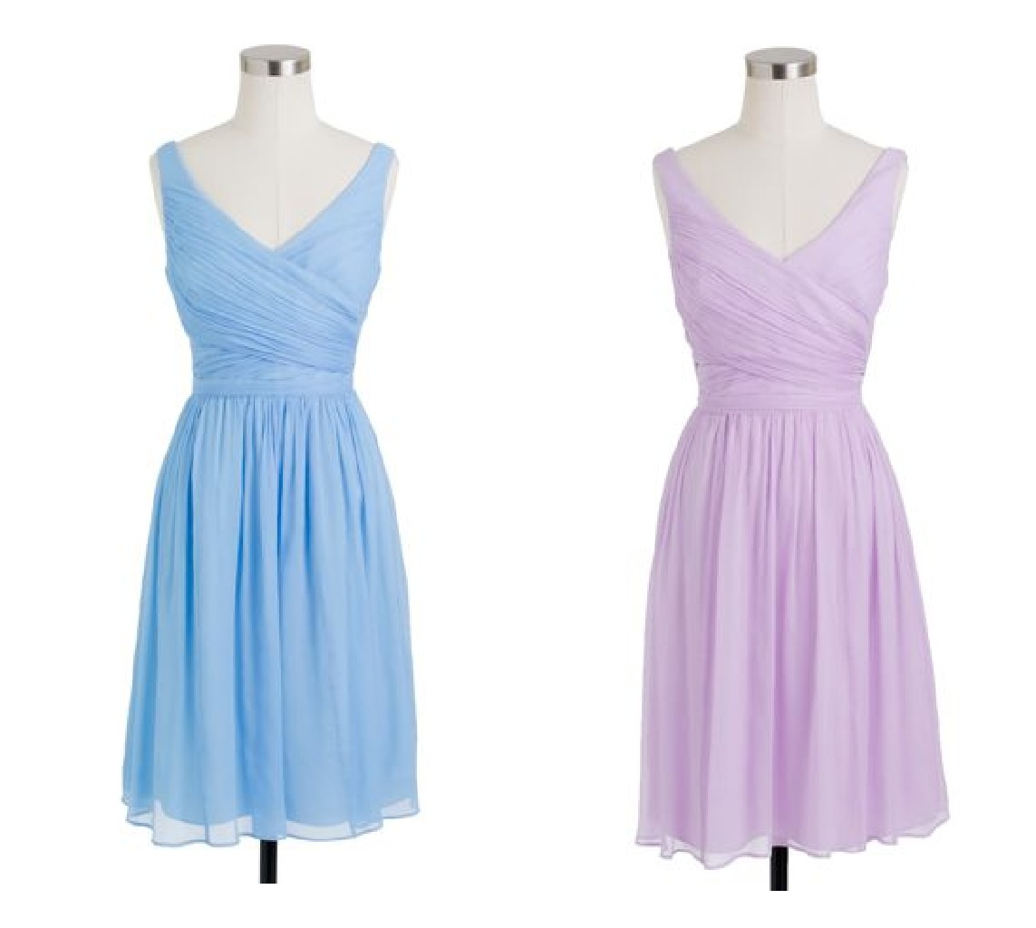 j crew bridesmaid dresses for a vintage wedding rustic