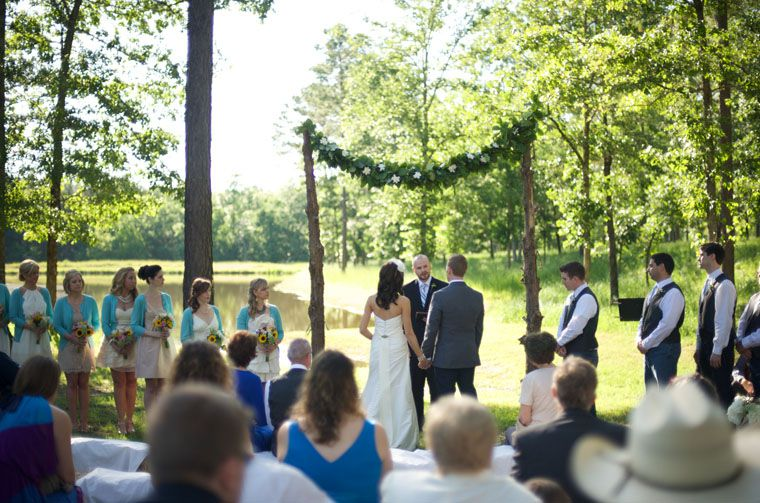 Outdoor Farm Wedding